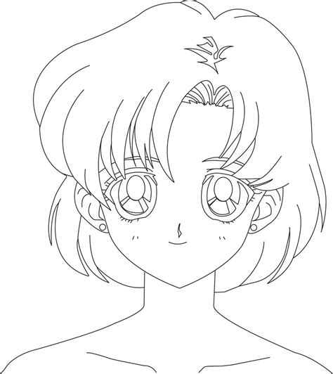 mercury and sailor mars coloring pages coloring pages