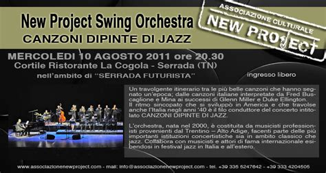 canzoni swing italiane italian lounge quintet new project swing orchestra