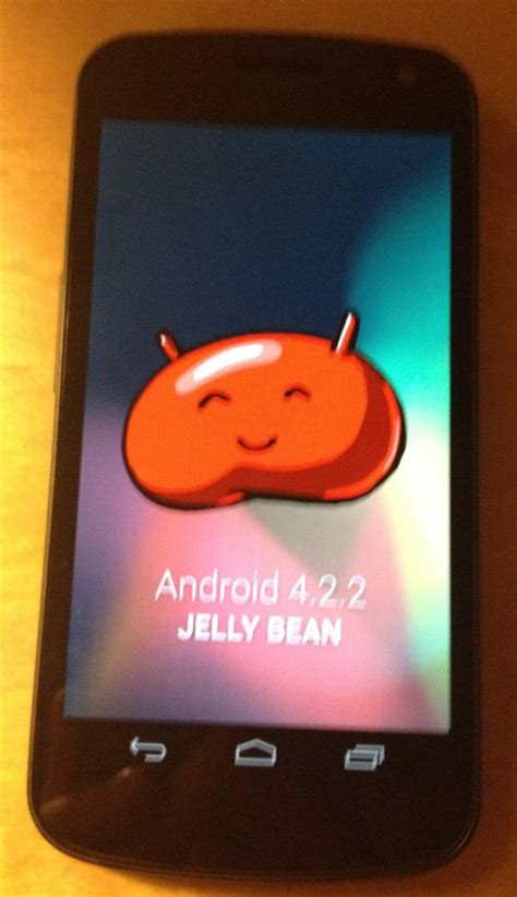 android 4 2 2 jelly bean android 4 2 2 wordt in februari of maart uitgebracht