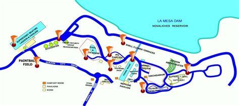 map louisiana dams ph commute commuting to la mesa ecopark