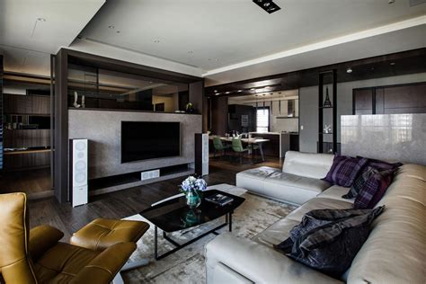 Lin?s Modern Apartment in Kaohsiung City, Taiwan designed