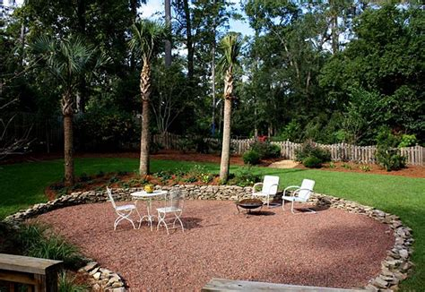 gravel for backyard backyard landscaping with gravel ideas home about
