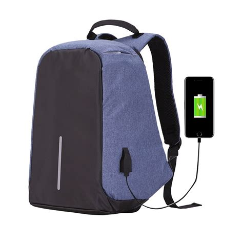 Backpack With Usb Charging Port large capacity laptop backpack with usb charging port