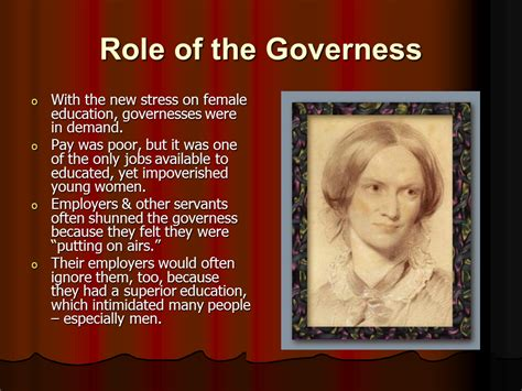 governess theme in jane eyre jane eyre presentation english literature sliderbase