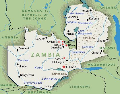 printable map of zambia abdicate world time zone country detail printer version