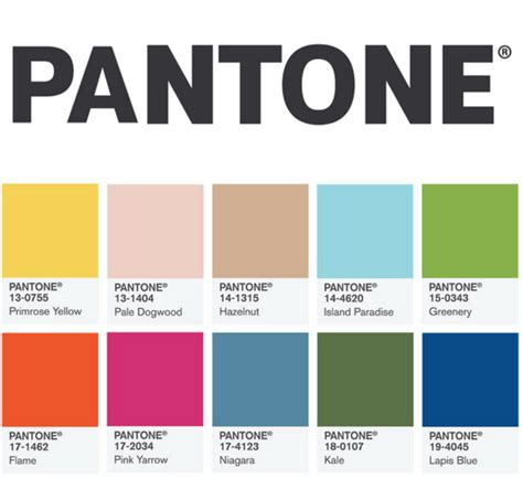 pantone color forecast pantone colour report for spring 2017 blog for wedding