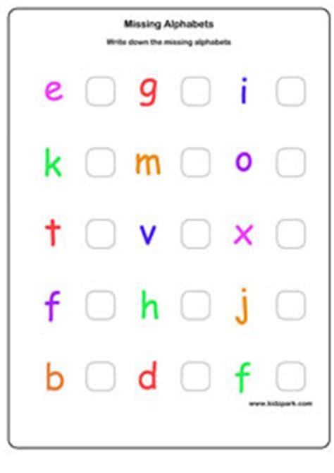 free printable english worksheets for lkg lkg english capital missing letters worksheet kindergarten