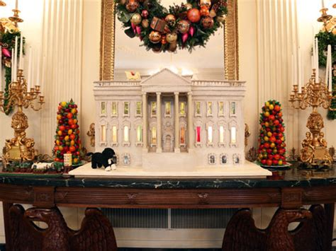 white house decorations inside the white house