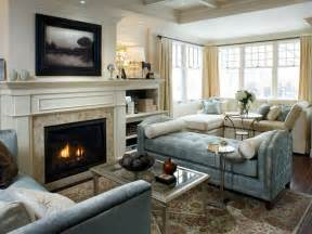 Livingroom Fireplace by Living And Dining Room Renovation Divine Design Hgtv