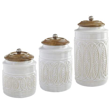 kitchen utensil canister ivory farmhouse canisters kitchen utensils canisters