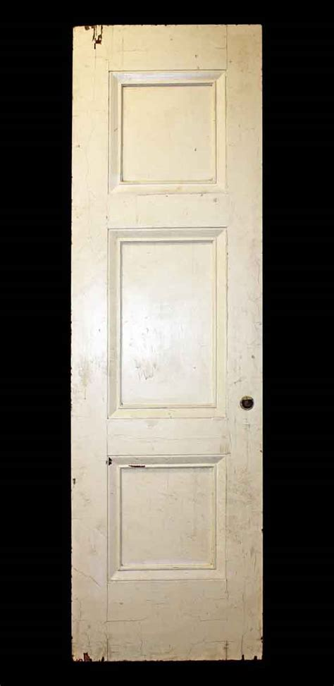 3 panel door thick but narrow three panel door olde things
