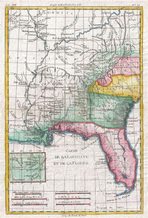 map louisiana alabama florida file 1780 raynal and bonne map of louisiana florida and