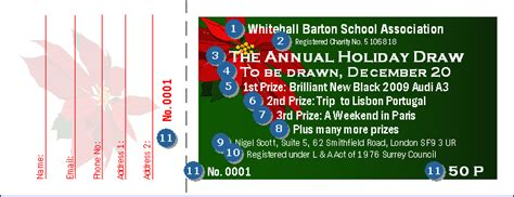 images of christmas raffle tickets christmas poinsettia raffle ticket ticketriver