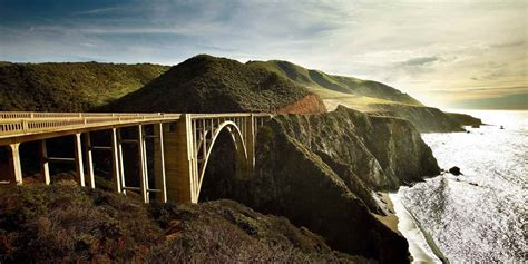 bridge bid spotlight big sur visit california