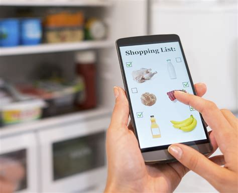 shopping digital taking digital grocery shopping lists to the next level