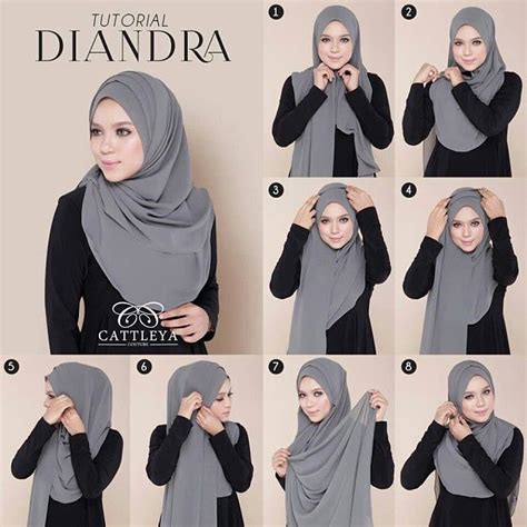 Tutorial Hijab Simple Selendang | shawl tutorial google search hijjab tutorial
