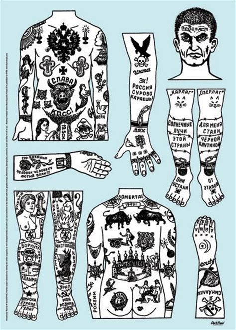 russian prison tattoo meanings russian crimianl tattoos by dontpanicmedia on deviantart