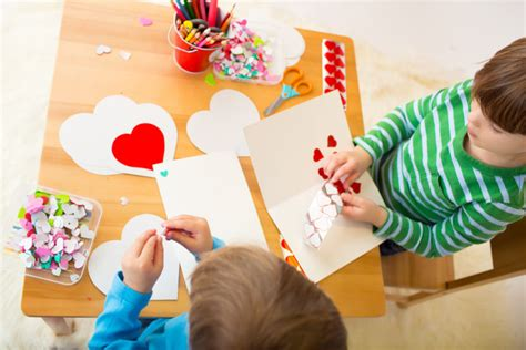 valentines craft for children easy and s day crafts for kla schools