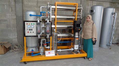 Mesin Water Treatment jual mesin osmosis ro 40 000 gpd 150 000 lpd harga