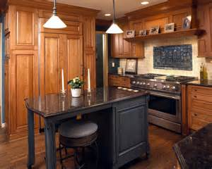 island in a small kitchen 20 rustic kitchen island designs ideas design trends