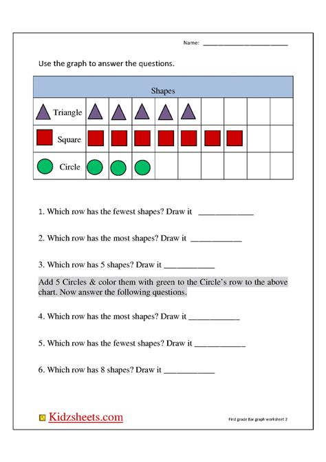 printable picture graphs for first grade blank bar graph template for first grade 1st grade