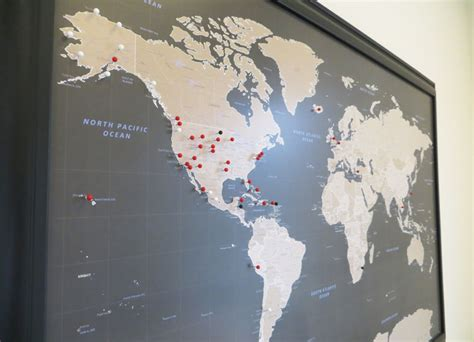 map of travels with pins the best push pin travel map to buy with our best