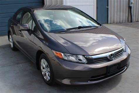 Honda Warranty 2012 by 2012 Honda Civic Lx Automatic Factory Warranty 39 Mpg
