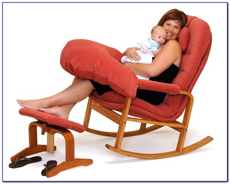 Comfortable Rocking Chair For Nursing by Nursing Rocking Chair Chairs Home Decorating