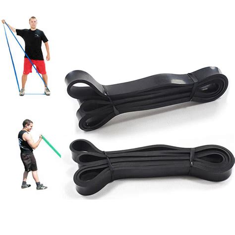 Pull Up Resistance Band Fitness 208cm pull up physio resistance bands fitness crossfit loop bodybulding