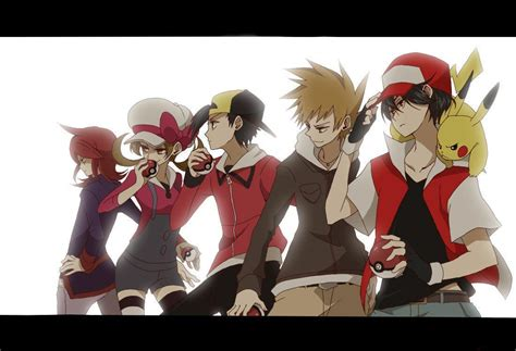 Ange Boy Trainer Green pok 233 mon wallpapers wallpaper cave