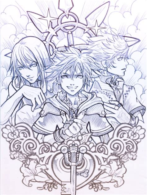 kingdom of hearts by sooj on deviantart