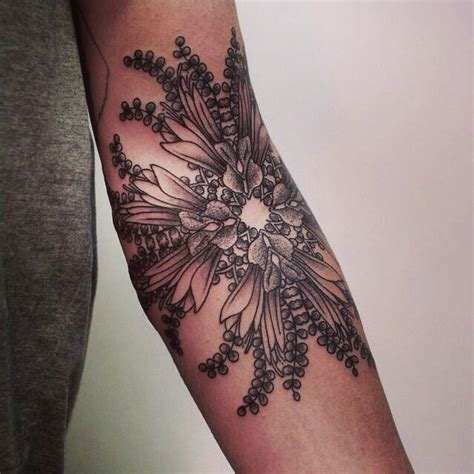 elbow flower tattoo designs 25 inside tattoos