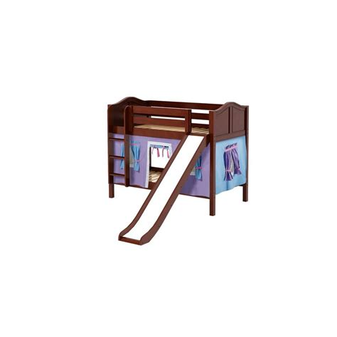 Bunk Bed W Slide Smile27 Maxtrix Bunk Bed Ladder Slide Tent Solid Wood