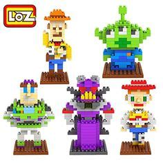 Loz Lego Nano Block Nanoblock Donald Duck Murah nano block loz micro building blocks disney story mr potato disney toys and