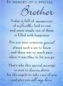 Rest in peace brother quotes birthday wish for brother in