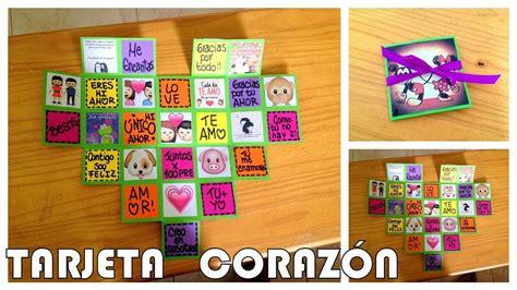 imagenes originales para tu novio regalo facil para novio a tarjeta coraz 243 n youtube
