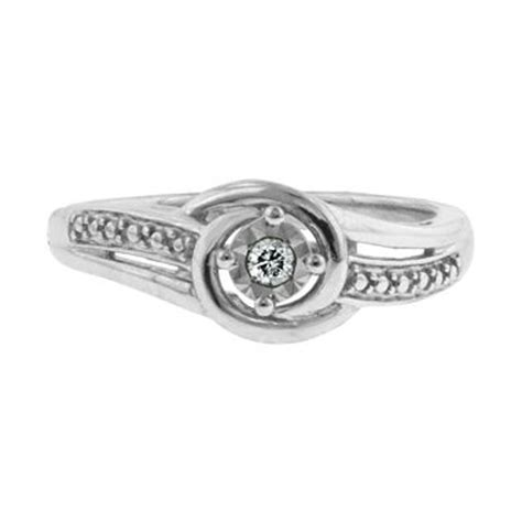 accent promise ring sterling silver jcpenney