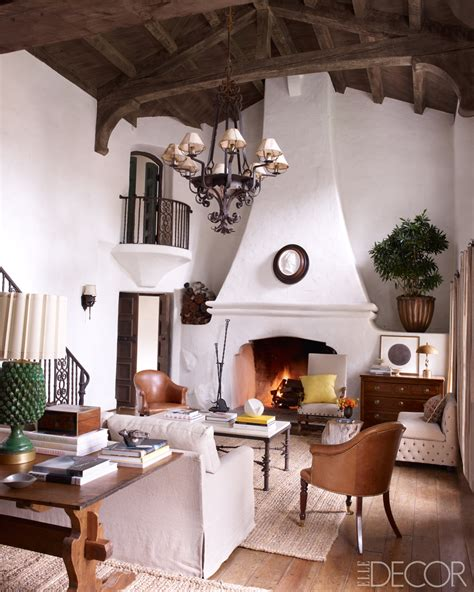 Reese Witherspoon   Rustic Decor   Spanish Colonial   Interior Design