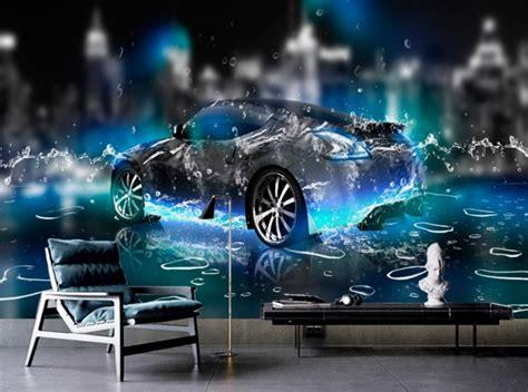 car live wallpaper 3d hd wallpaper for bedroom walls water sports car 3d wall