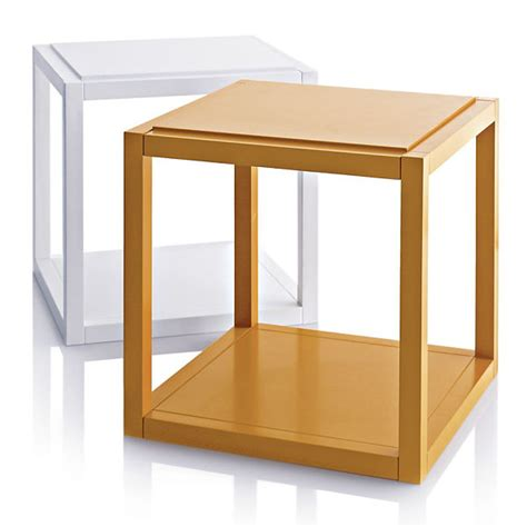 Cube Side Table Back To The 12 Best Side Tables For