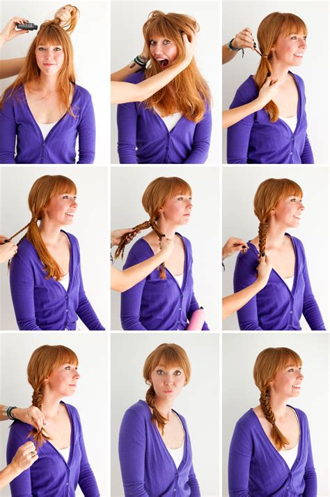 steps to show how to make fish tail favload how to make tutorial fishtail hairstyle step by step
