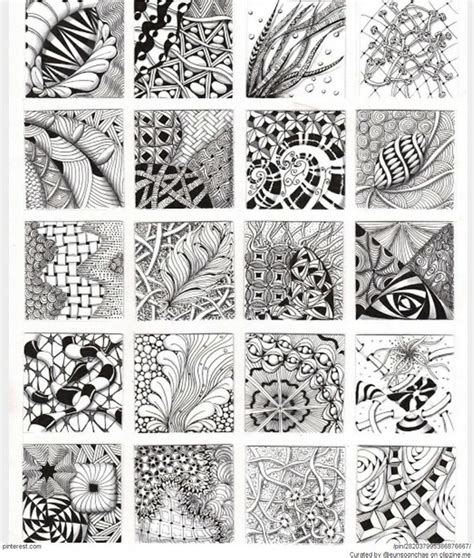 zentangle pattern pinterest zentangle patterns ideas zentangle pinterest