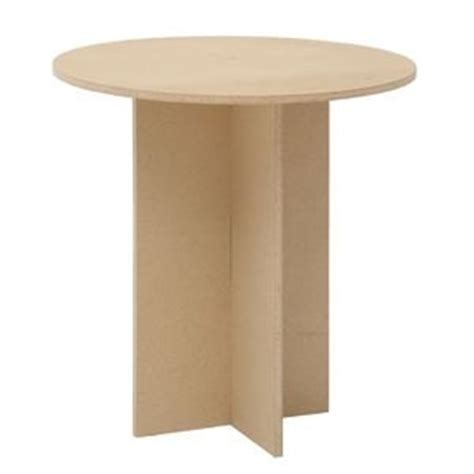 particle board standard display table 30