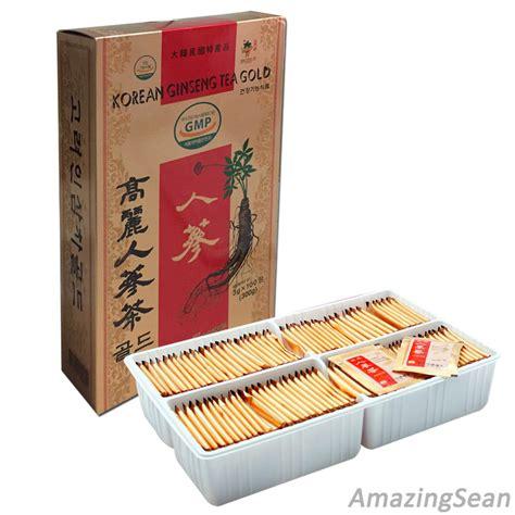 Jual Korean Ginseng Granule Tea korea ginseng tea 100 bags 50 bags anti aging anti
