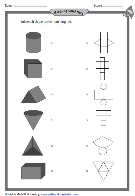 3d shapes worksheets teaching geometry