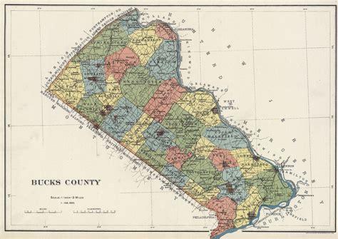map of bucks county map of bucks county pennsylvania 1900 this image was