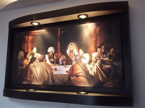 cuadro la ultima cena da vinci cuadro de la ultima cena en 4 luces 1 950 00 en