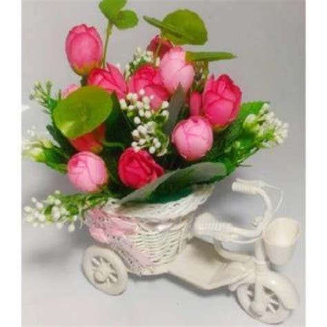 lf vas gantung anyaman kecil kecil anyaman keranjang ruang tamu simulasi bunga rotan