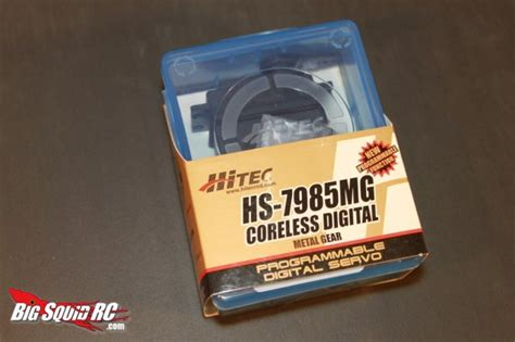 Hitec Hs 7985mg High Torque Coreless Programmable Digital Servo hitec hs 7985mg digital metal gear servo review 171 big squid rc rc car and truck news reviews