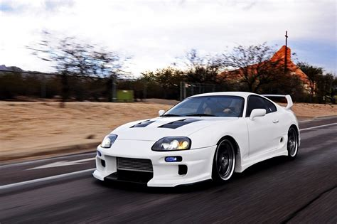 modified toyota supra because supra